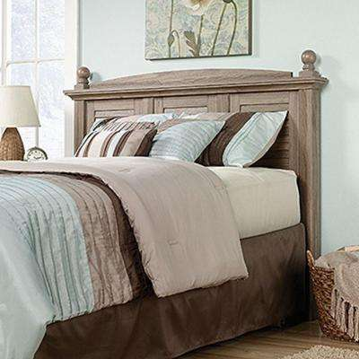 Harbor View Collection Full and Queen-Size Headboard in Salt Oak