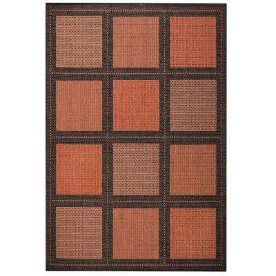 summit terracotta 5 ft 10 in x 9 ft 2 in area - Home Decorators Outdoor Rugs