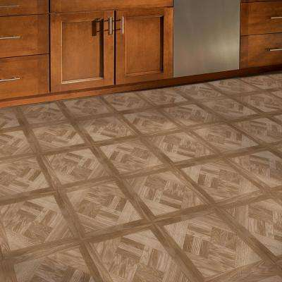 Chaucer 12 in. Width x 12 in. Length x 0.039 in. Thick Peel and Stick Vinyl Tile (45 sq. ft. / Carton)