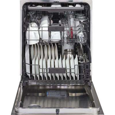 Top Control Dishwasher in Stainless Steel with Stainless Steel Tub and Steam Prewash, 45 dBA