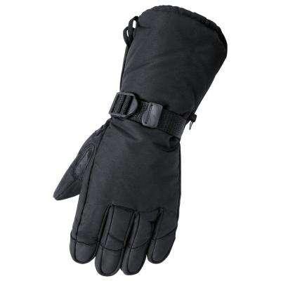 Deerskin Gauntlet Black Glove