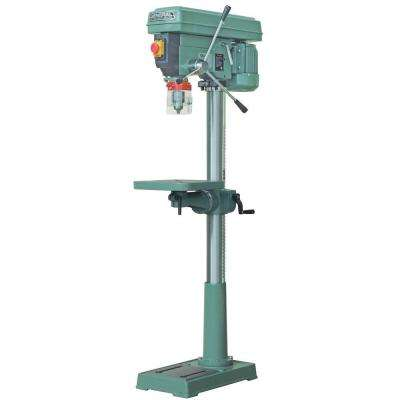 17 in. Floor Drill Press with Regular Chuck