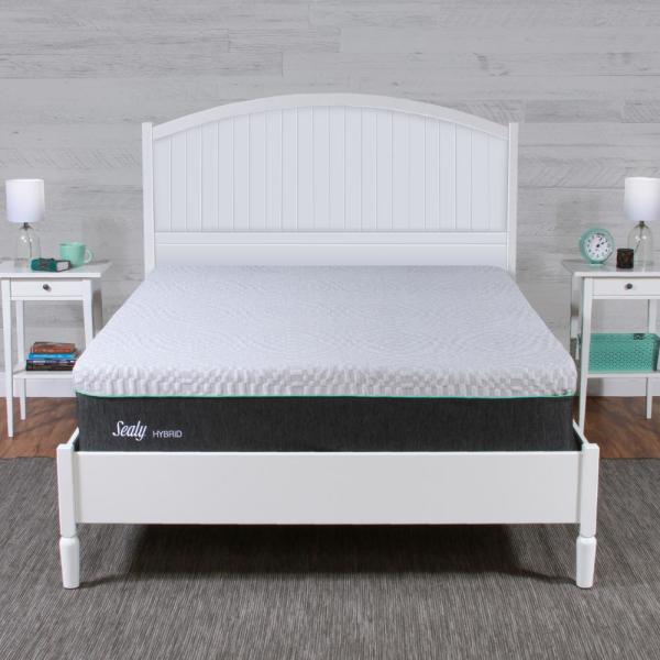 Sealy 12 in. Spring & Memory Foam Hybrid Mattress - Medium Firm