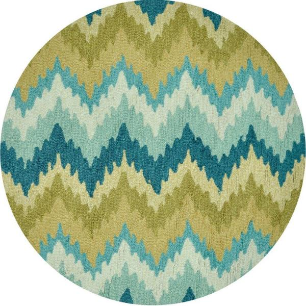 loloi rugs summerton lifestyle collection aqua/green  ft. round, 3 ft round area rugs, 3 ft round braided rug, 3 ft round jute rug