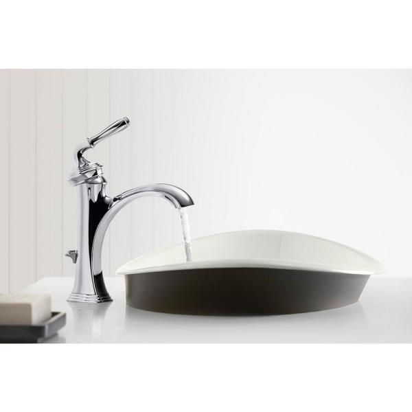Kohler Devonshire Single Hole Single Handle Water Saving Bathroom Faucet In Vibrant Brushed Nickel K 193 4 Bn The Home Depot
