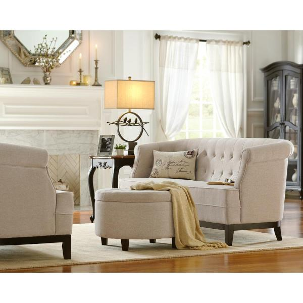 Home Decorators Collection Home Decorators Emma Collection in Textured Natural