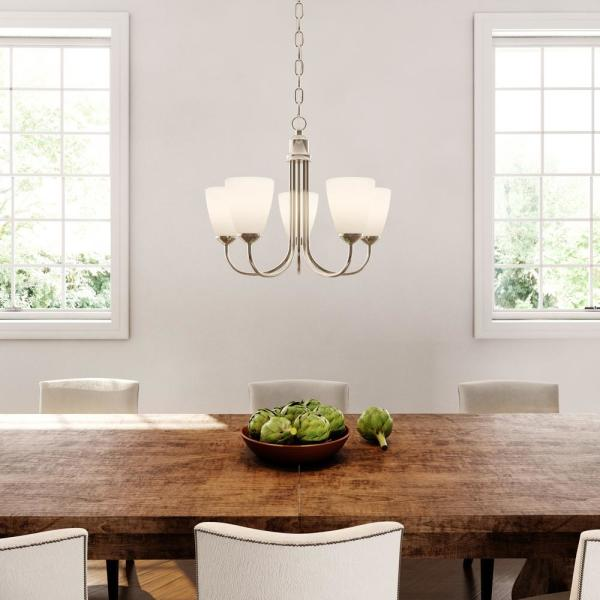 Progress Lighting Gather Collection in Brushed Nickel