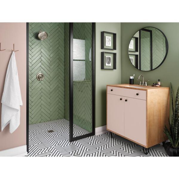 Brecklyn Bathroom Collection in Spot Resist Brushed Nickel ...