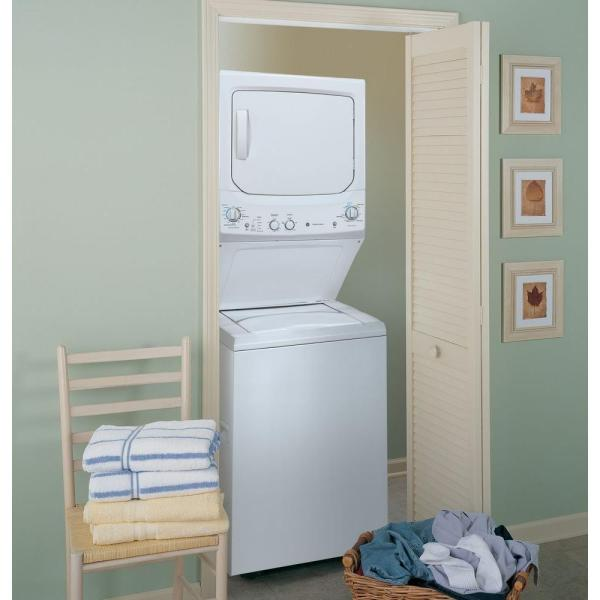 Ge Spacemaker Washer And Electric Dryer In The Home Depot Small Apartment  Size Washer