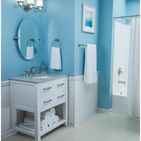 Darcy Bathroom Collection in Brushed Nickel - Bath - The ...