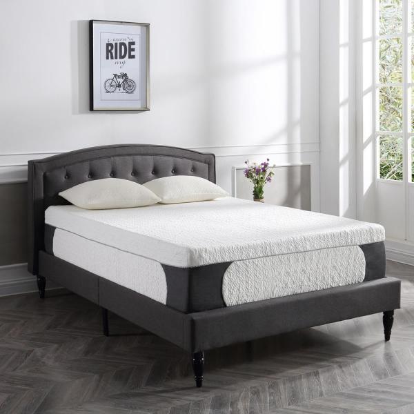 SLEEP OPTIONS Cool Top Gel 14 in. Memory Foam Mattress, Multiple Sizes