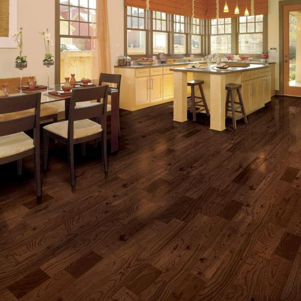 Hardwood Floor Home Depot can the floor be installed on cement slab Home Legend Teak Huntington 38 In Thick X 4 34 In Wide X Varying Length Click Lock Hardwood Flooring 2494 Sq Ft Case Hl108h The Home Depot