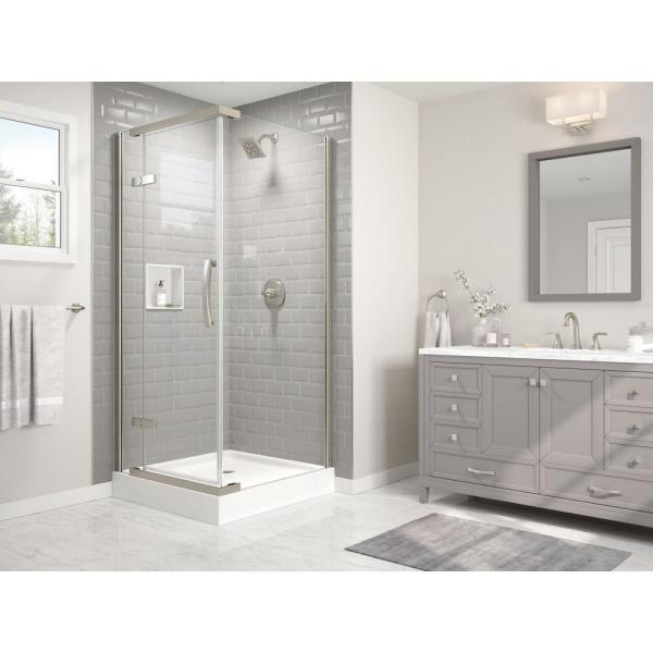 Portwood Bath Collection in Brushed Nickel - Bath - The ...