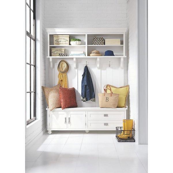 Home Decorators Collection Vernon Collection in Polar White