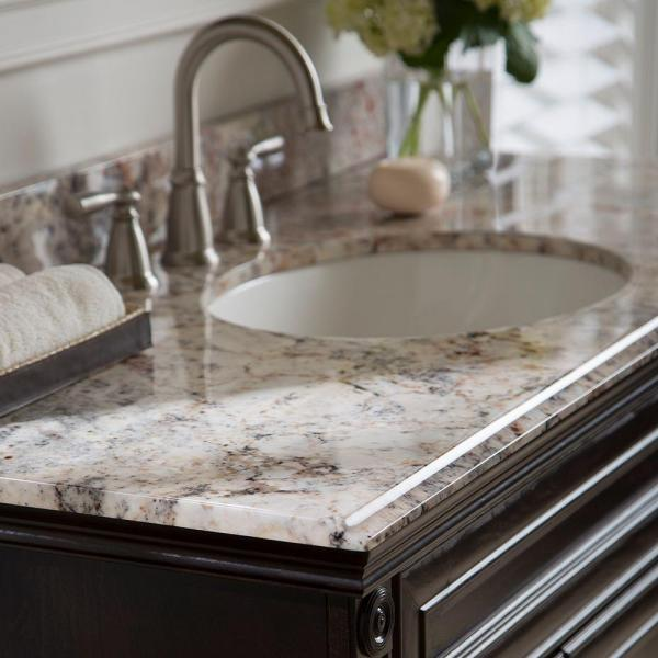 49 In W Vanity Top Collection Bath The Home Depot