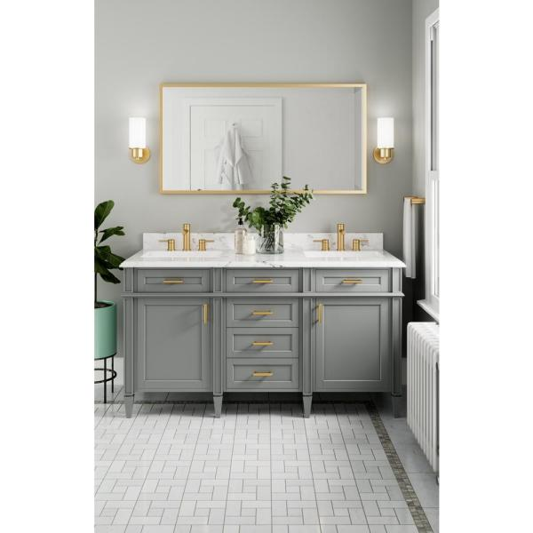 Bathroom Collection In Brushed Gold