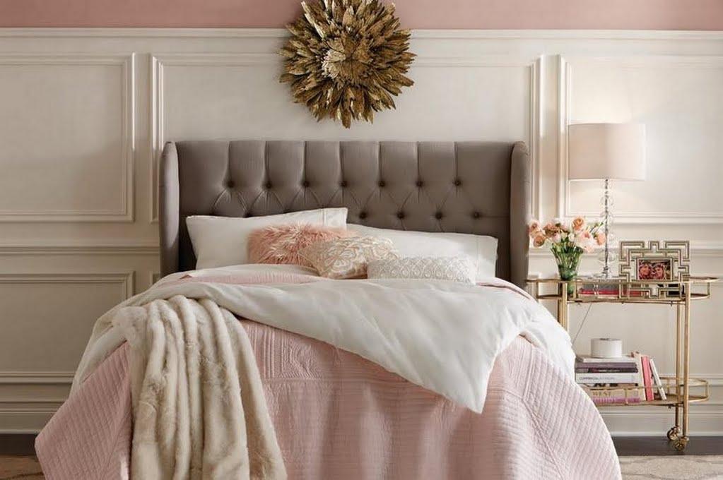 vintage glam bedroom bedroom the home depot rh homedepot com vintage glam bedroom ideas Elegant Master Bedrooms