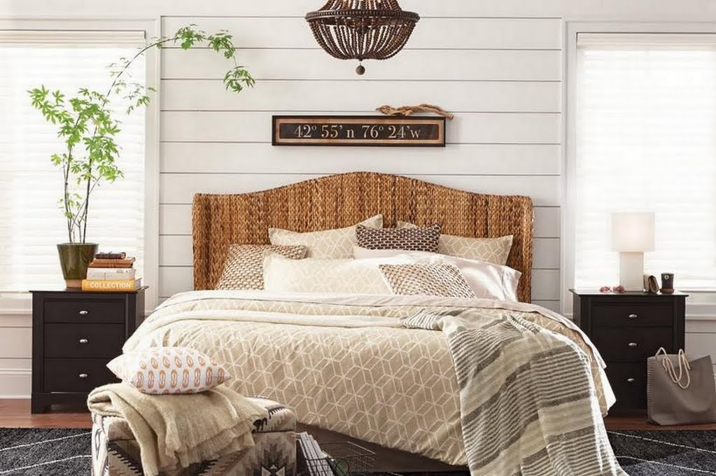 Modern Farmhouse Bedroom – Bedroom – The Home Depot