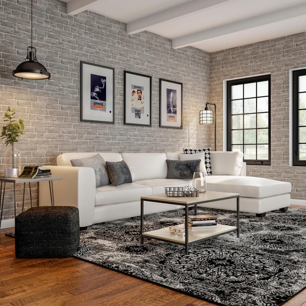 Urban Modern Living Room – Living Room – The Home Depot