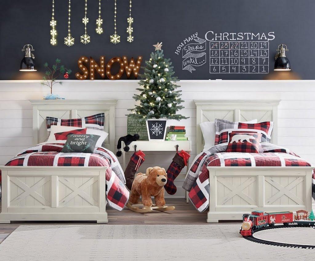 holiday farmhouse boys bedroom ideas