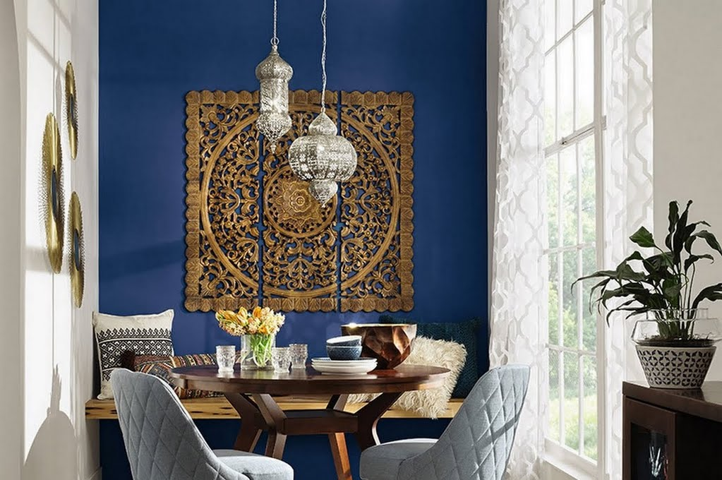 Bohemian Dining Room Dining Room The Home Depot