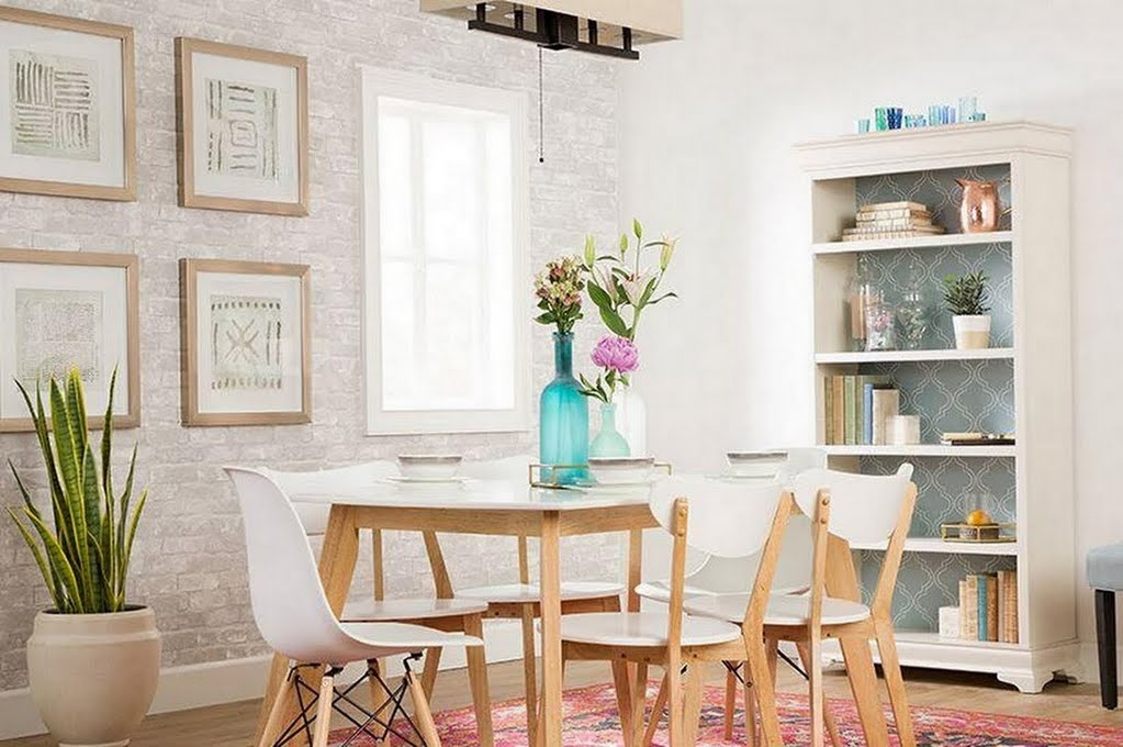 Modern Bohemian Dining Room – Dining Room – The Home Depot