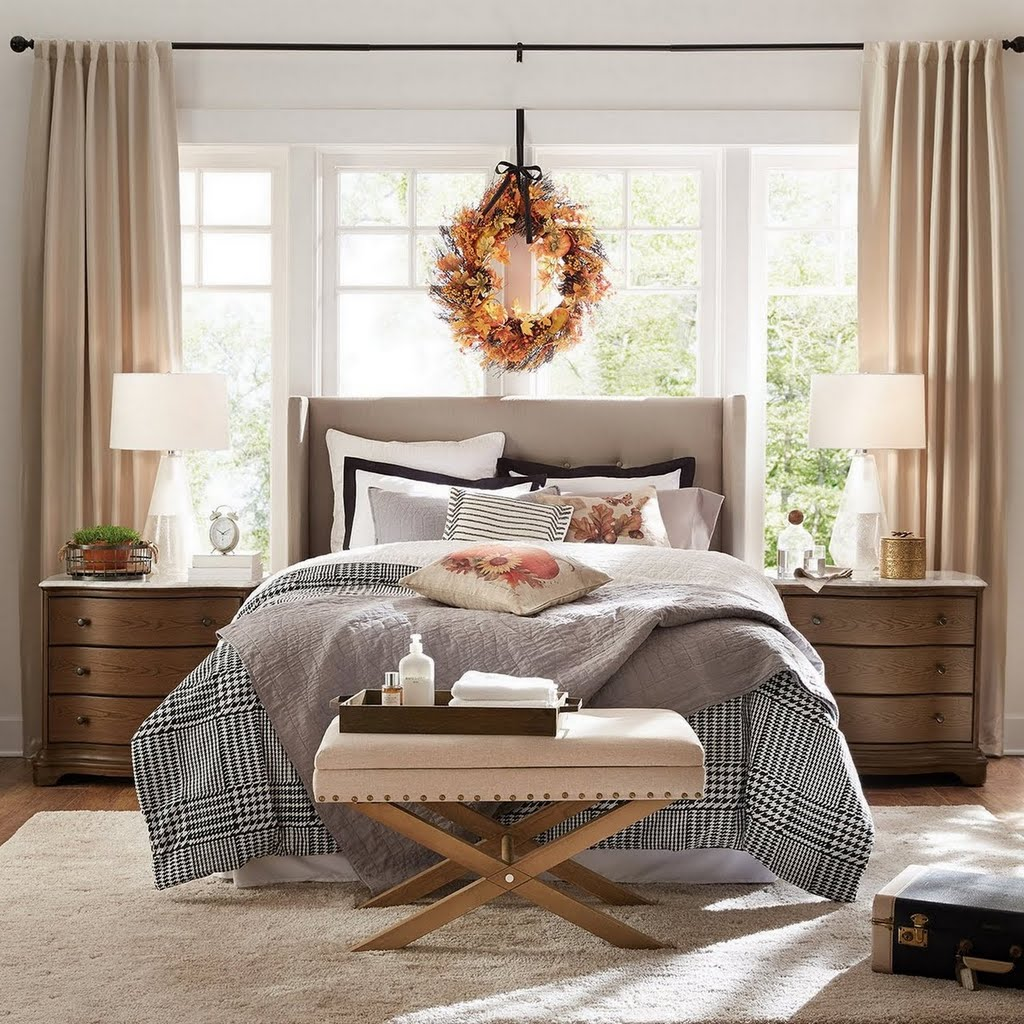 Farmhouse Guest Bedroom Bedroom The Home Depot