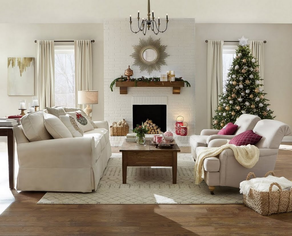 Holiday Cottage Living Room Living Room The Home Depot