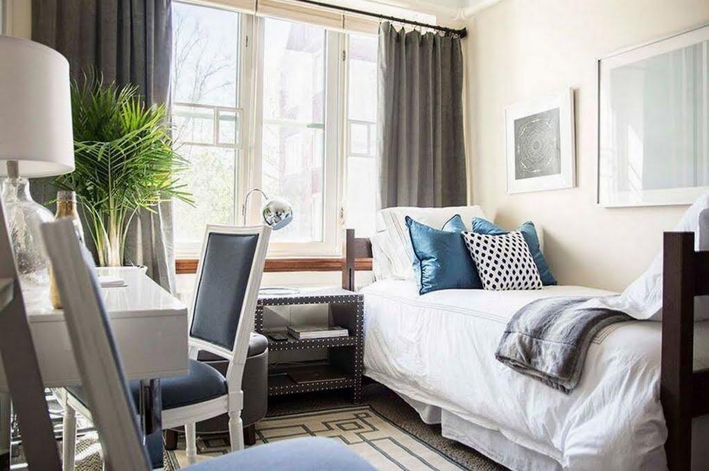 Modern Masculine Bedroom – Bedroom – The Home Depot