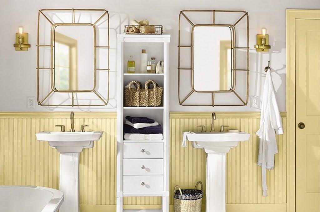 American Farmhouse Bath – Bathroom – The Home Depot