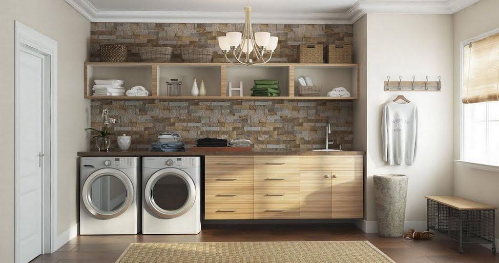 modern laundry room flooring | Modern Mudroom – Laundry Room – The Home Depot