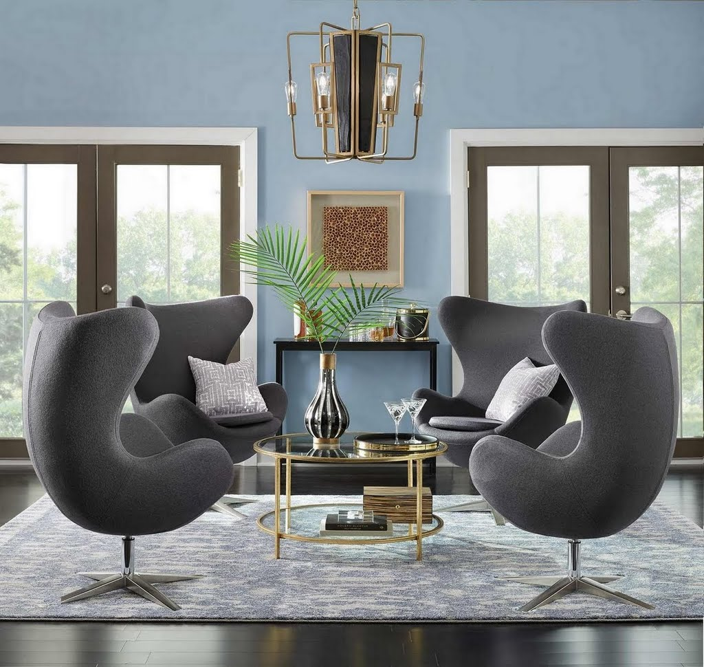 Kitchen Room Paint Paint Ideas For Living Rooms And: Vintage Glam Lounge