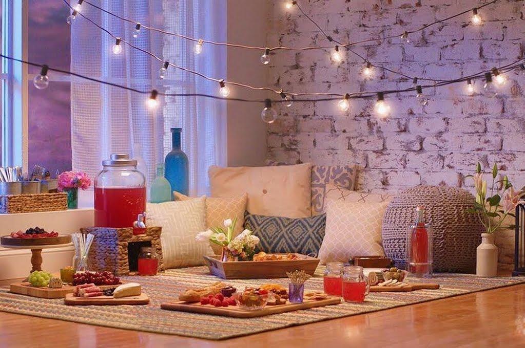 Indoor Picknick indoor picnic living room the home depot