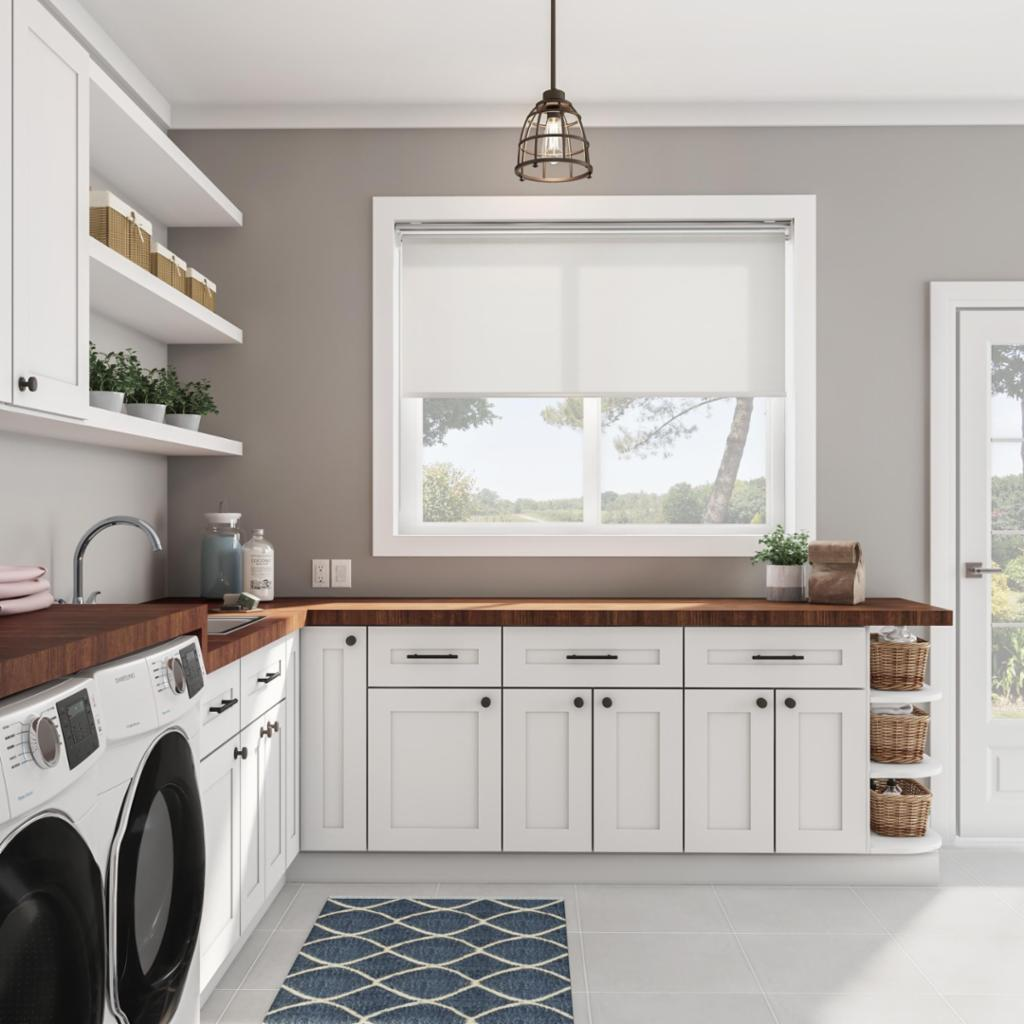 Farmhouse Laundry Room Shop By Room The Home Depot