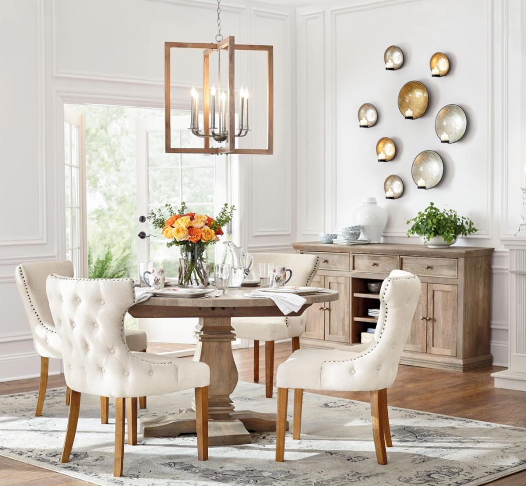 Airy Classic Dining Room – Dining Room – The Home Depot