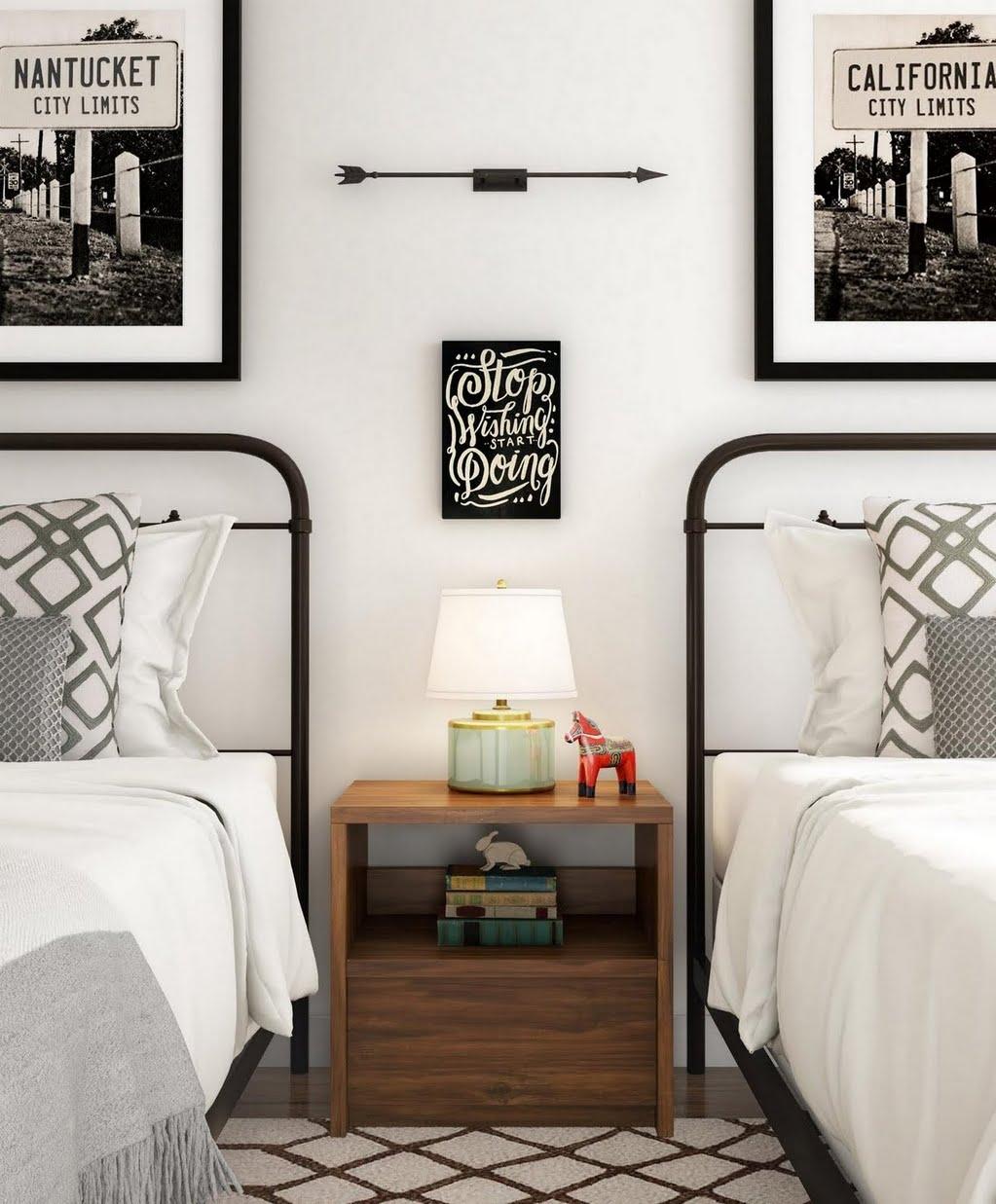 modern farmhouse boys bedroom ideas