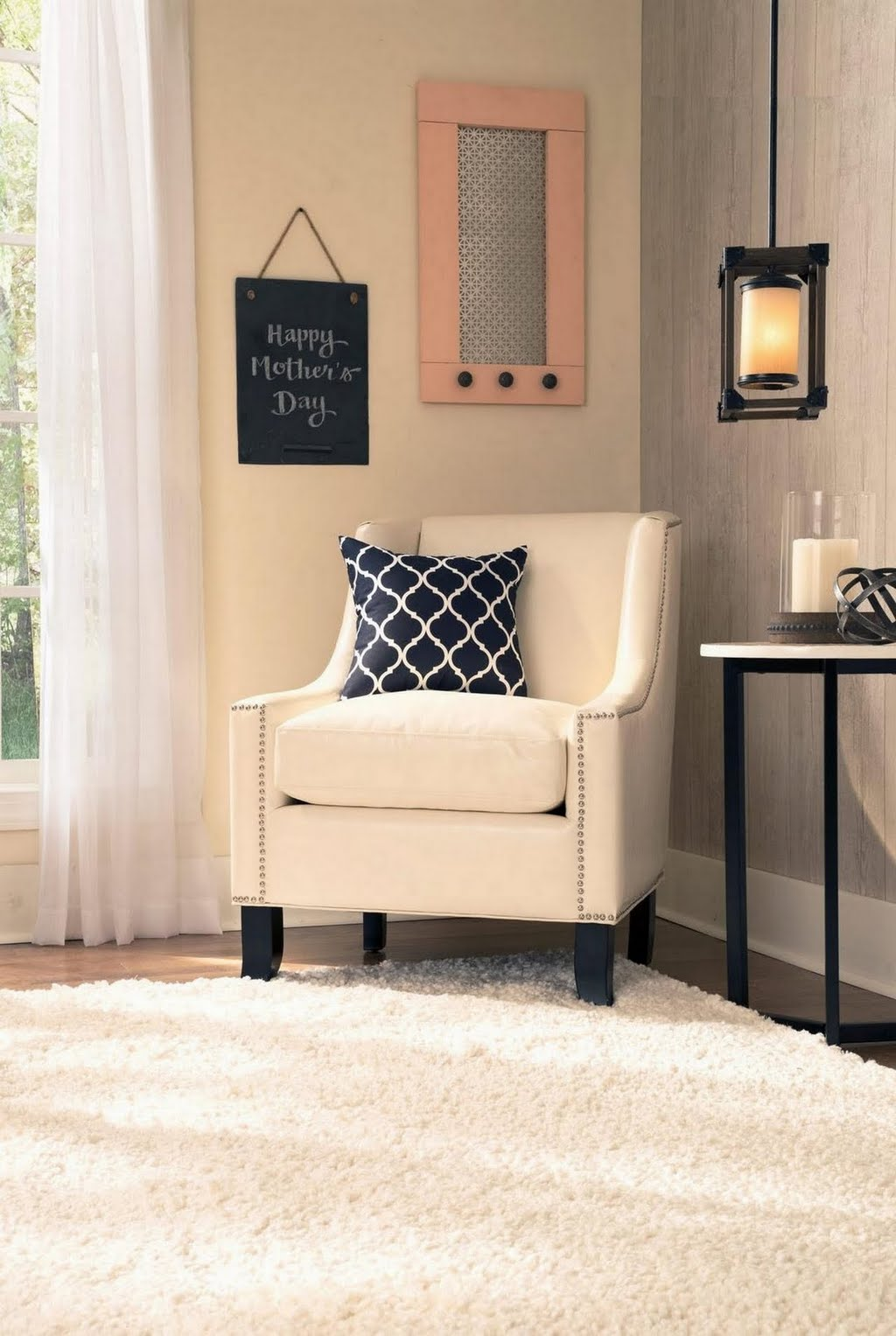 Cozy Corner Farmhouse Home Office The Home Depot