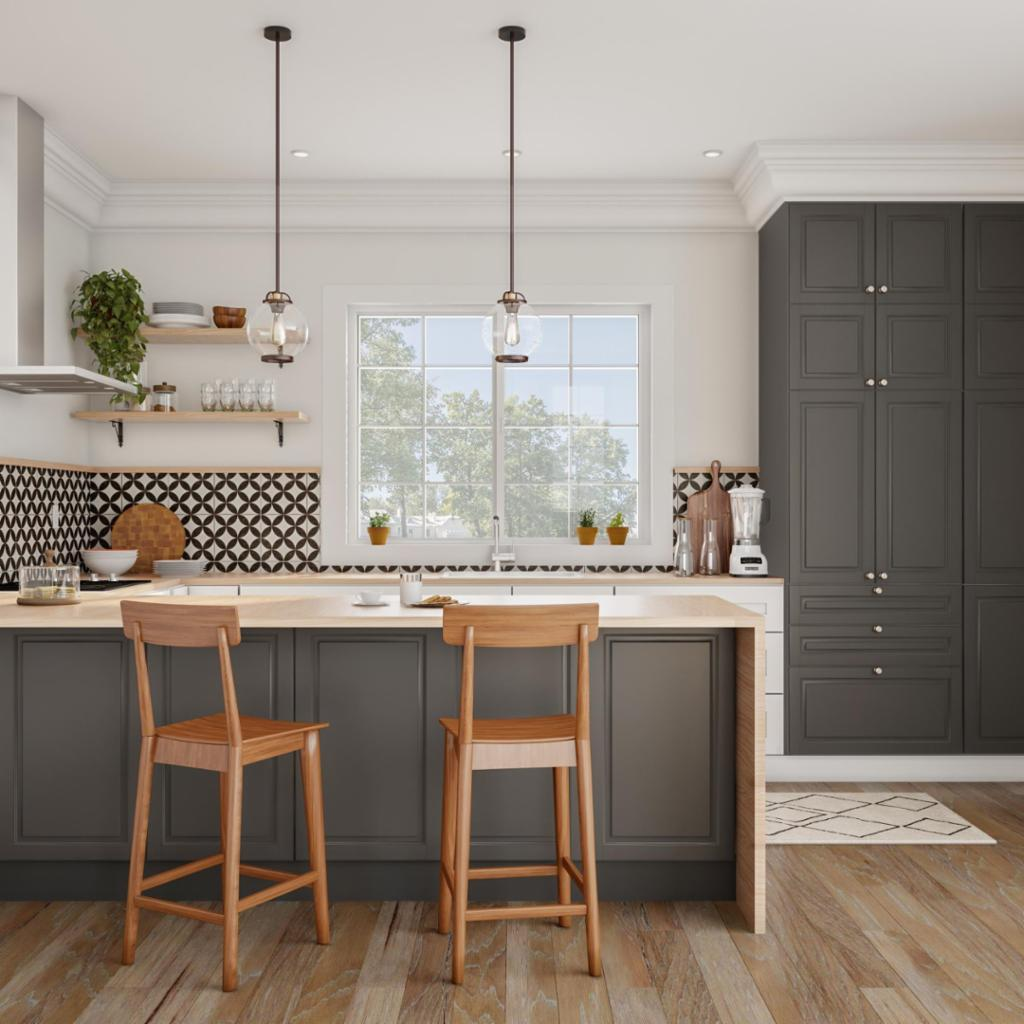 Minimalist Modern Kitchen Shop By Room The Home Depot