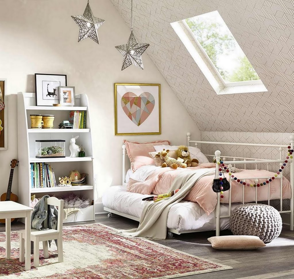 Room For Two Shared Bedroom Ideas: Eclectic Voyage Kids Bedroom