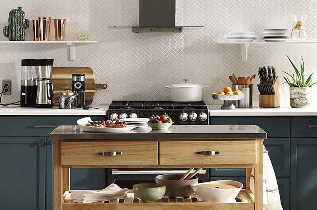 A Nod to Mod Kitchen