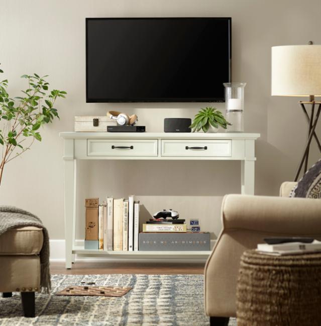 1 Piece 3 Ways - Living Room Console