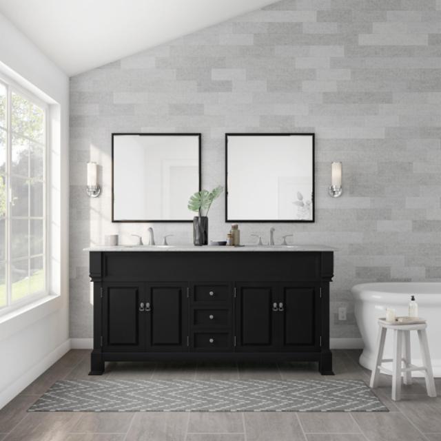 Modern Cottage Master Bathroom