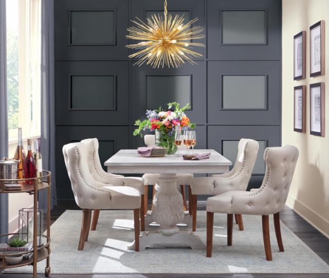 Spring Glam Dining Room