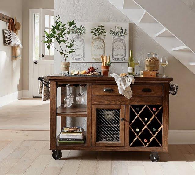 Cottage Kitchen Carts