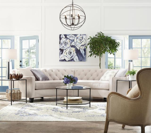 Airy Classic Living Room