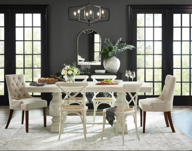 Classic Meets Mod Dining Room