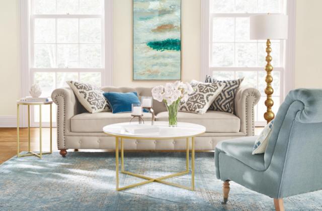 Springtime Living Room