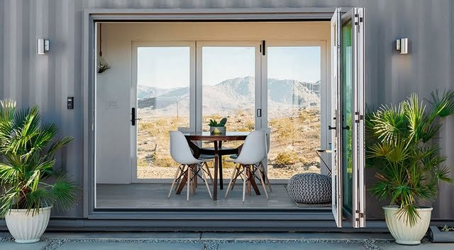 Container Home - Dining Room