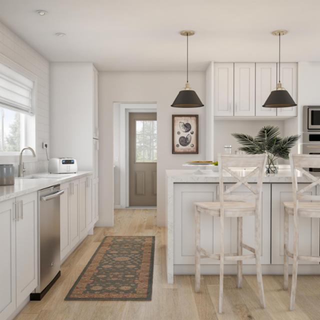 Breezy Modern Kitchen