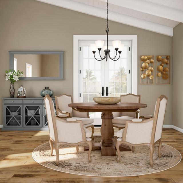 Rustic Cottage Dining Room